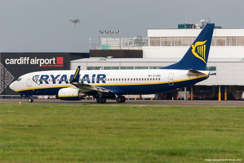 Ryanair Expands Network At Cardiff Airport