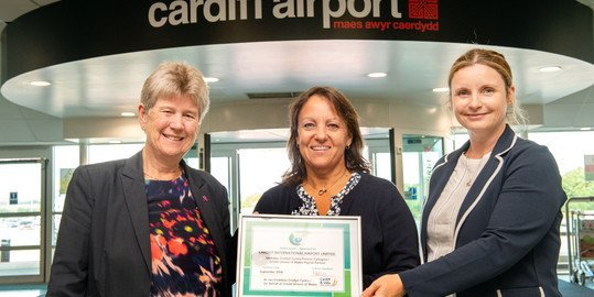 Cardiff Airport becomes newest partner of Cardiff and Vale Credit Union